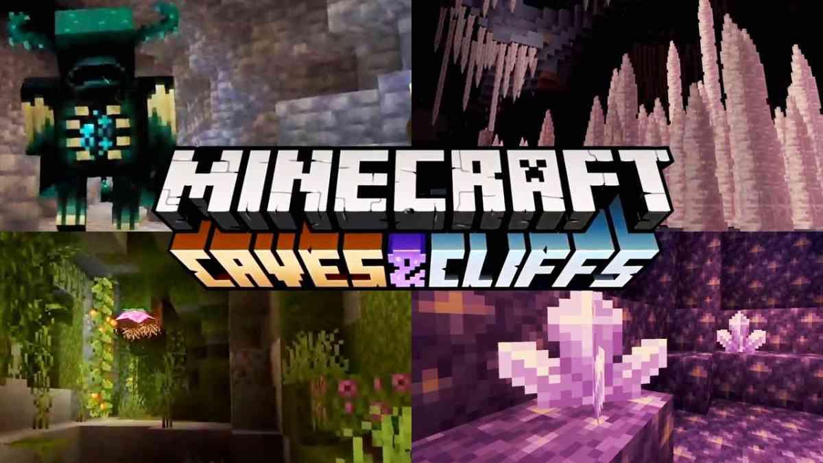 minecraft, minecraft caves & cliffs, minecraft aggiornamento, minecraft aggiornamento 2021, aggiornamenti minecraft, minecraft aggiornamenti più attesi