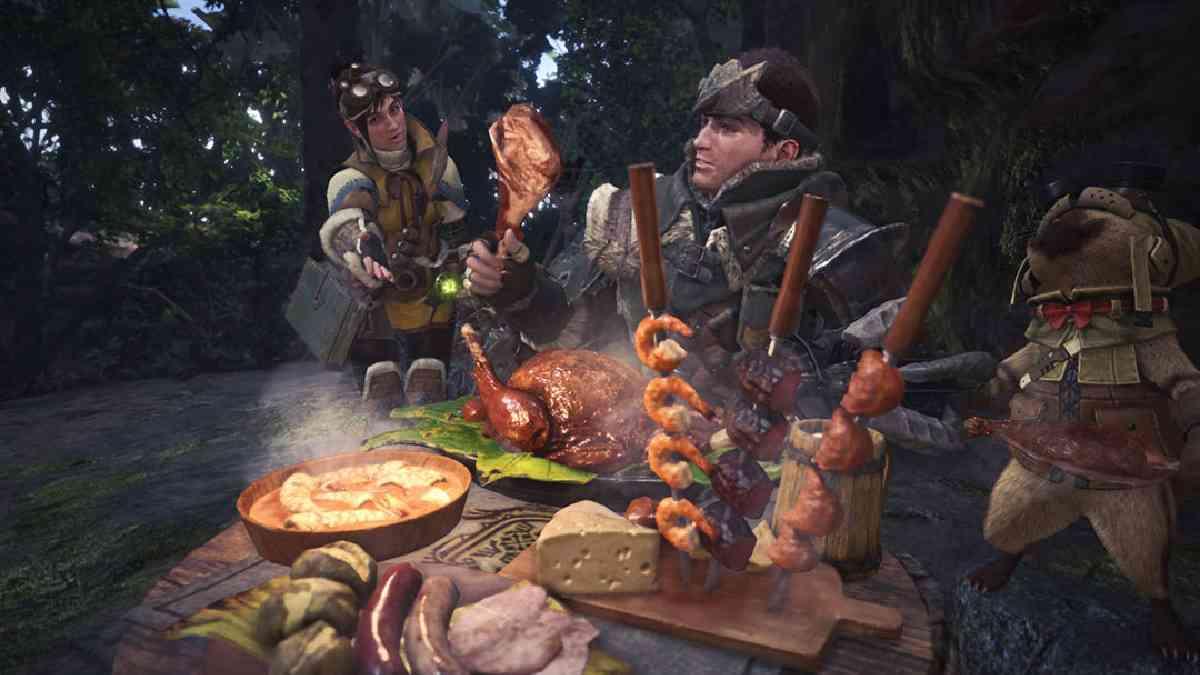 monster hunter: world, monter hunter, monster hunter: world ricetta, monster hunter: world ricetta selezione dello chef, Monster Hunter: World ricetta ricreata dal vivo