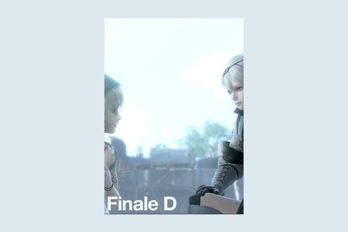 nier replicant finale d