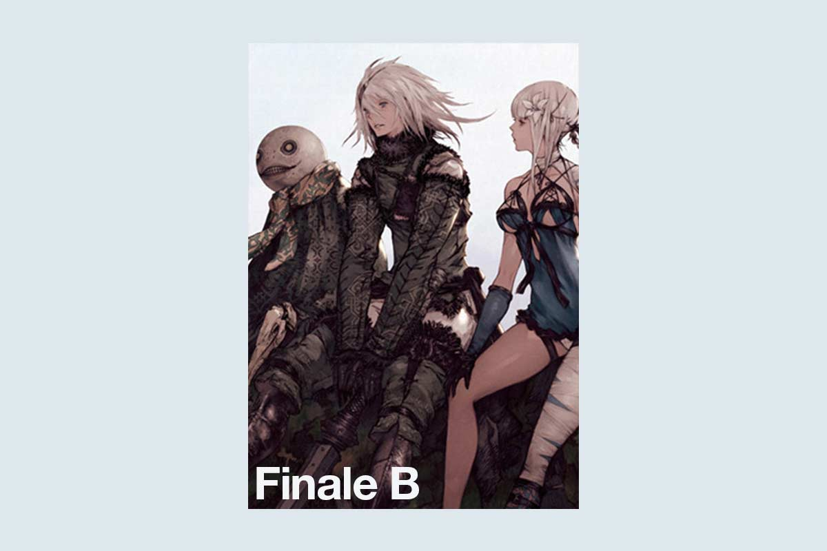 nier replicant finale b