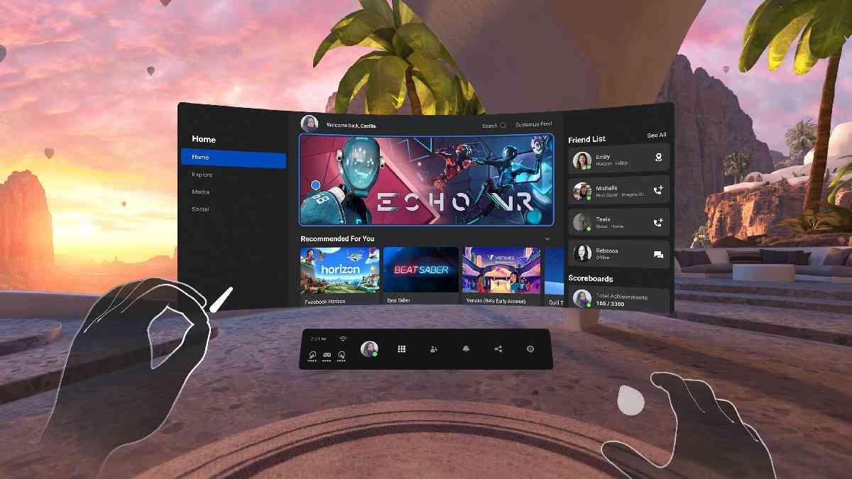 oculus quest 2, oculus gaming showcase, oculus primo showcase dedicato al videogioco, vr, videogioco vr, vr gaming