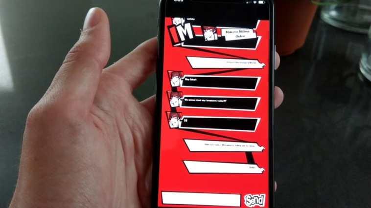 persona 5 mobile game
