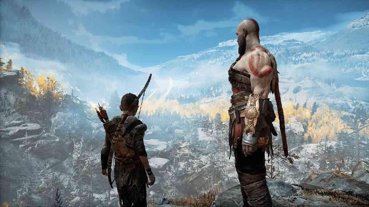 God of War, God of War 2018, God of War Playstation 4, God of War giochi ambientati in scandinavia