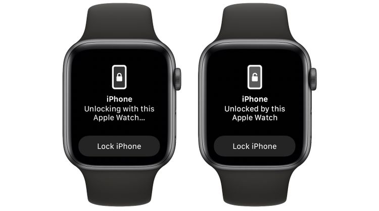Sblocco tramite Apple Watch
