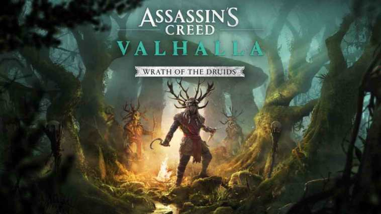 assassin's creed: valhalla, Assassin's Creed: valhalla espansione, assassin's creed: valhalla espansione rinviata, assassin's creed: valhalla wrath of the druids rinviata, assassin's creed: valhalla wrath of the druids