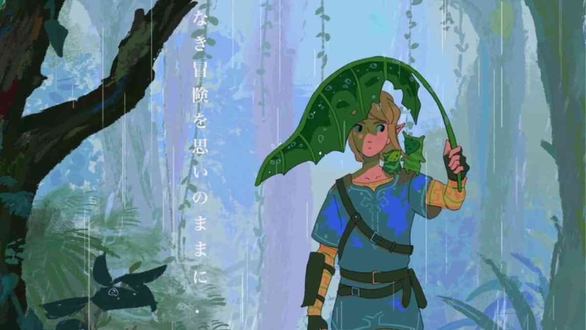 Zelda, The Legend of Zelda: Breath of the Wild, The Legend of Zelda: Breath of the Wild studio Ghibli, The Legend of Zelda: Breath of the Wild Ghibli omaggio