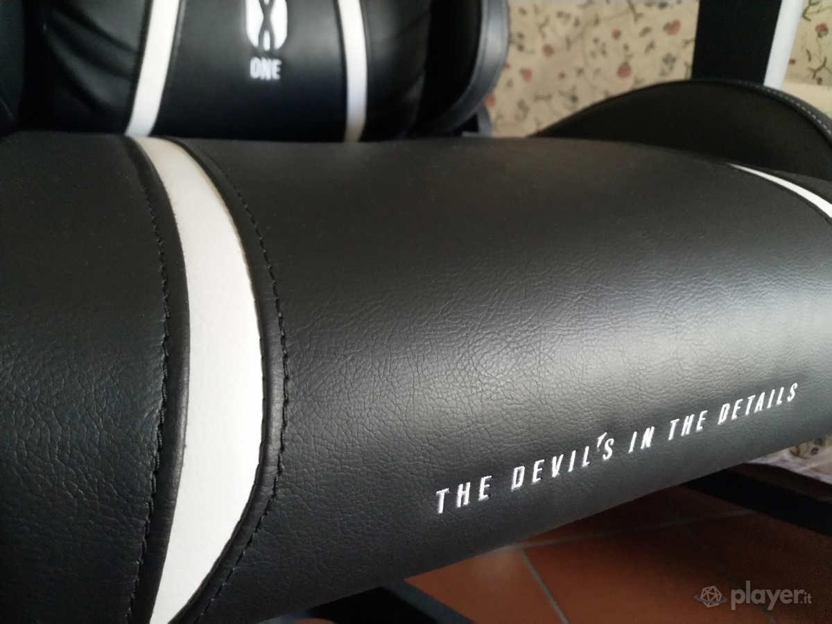 Diablo X-One 2.0 Sedia da gaming dettagli