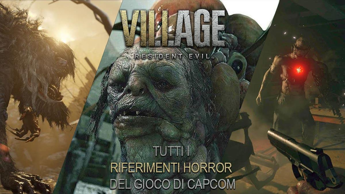 riferimenti horror in resident evil village