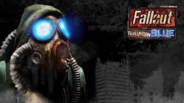 fallout revelation blue, fallout van buren, fallout 2, fallout new vegas mod, fallout new vegas revelation blue