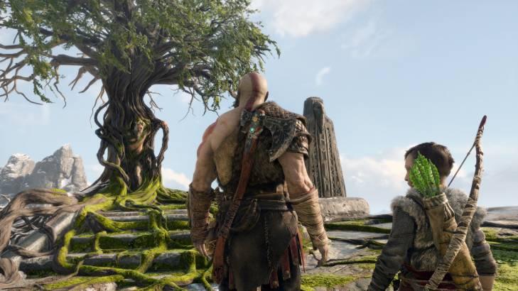 kratos film god of war