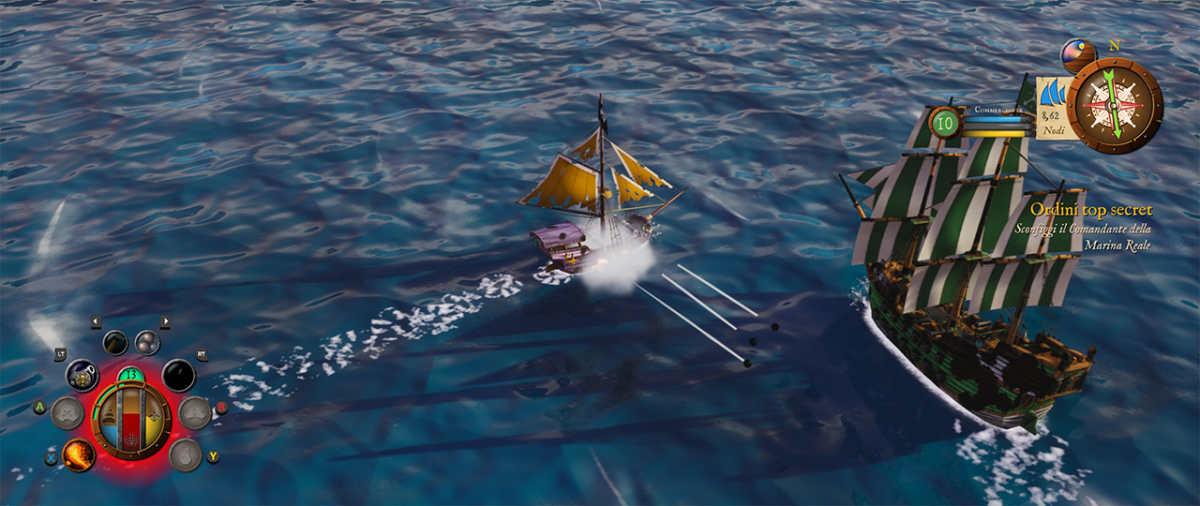 Combattimento di King of Seas