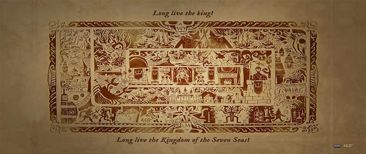 Lunga vita al Re, lunga vita al Regno dei Sette Mari.