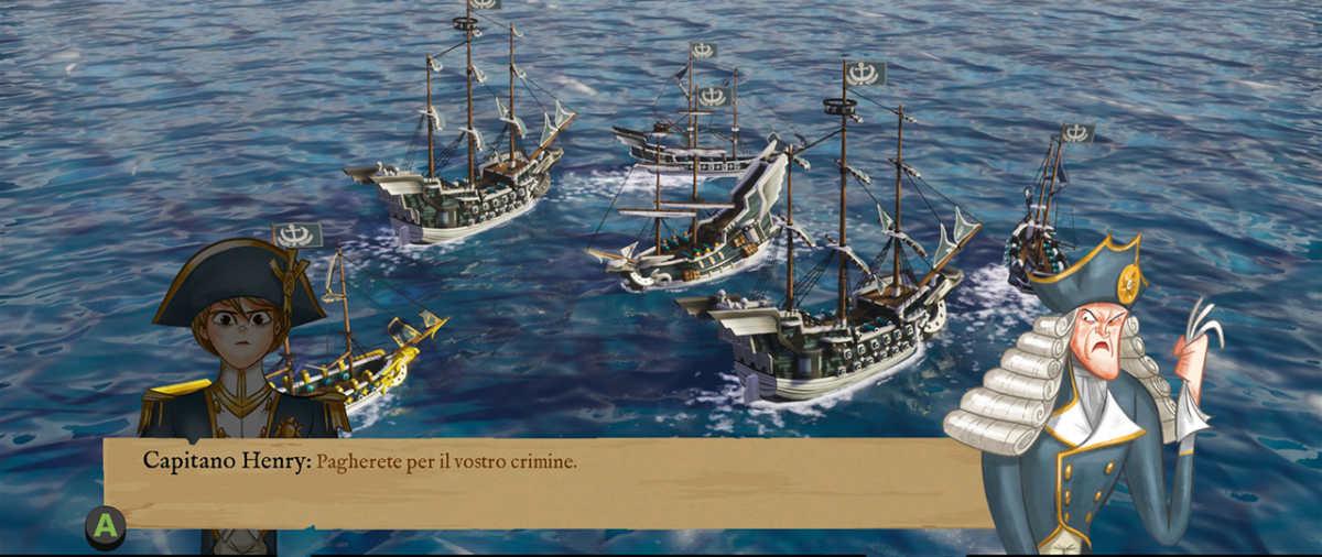 King of Seas, tradimento iniziale