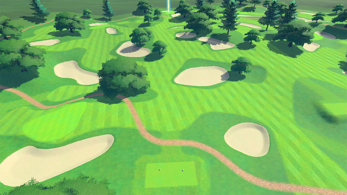 Campo standard di Mario Golf Super Rush