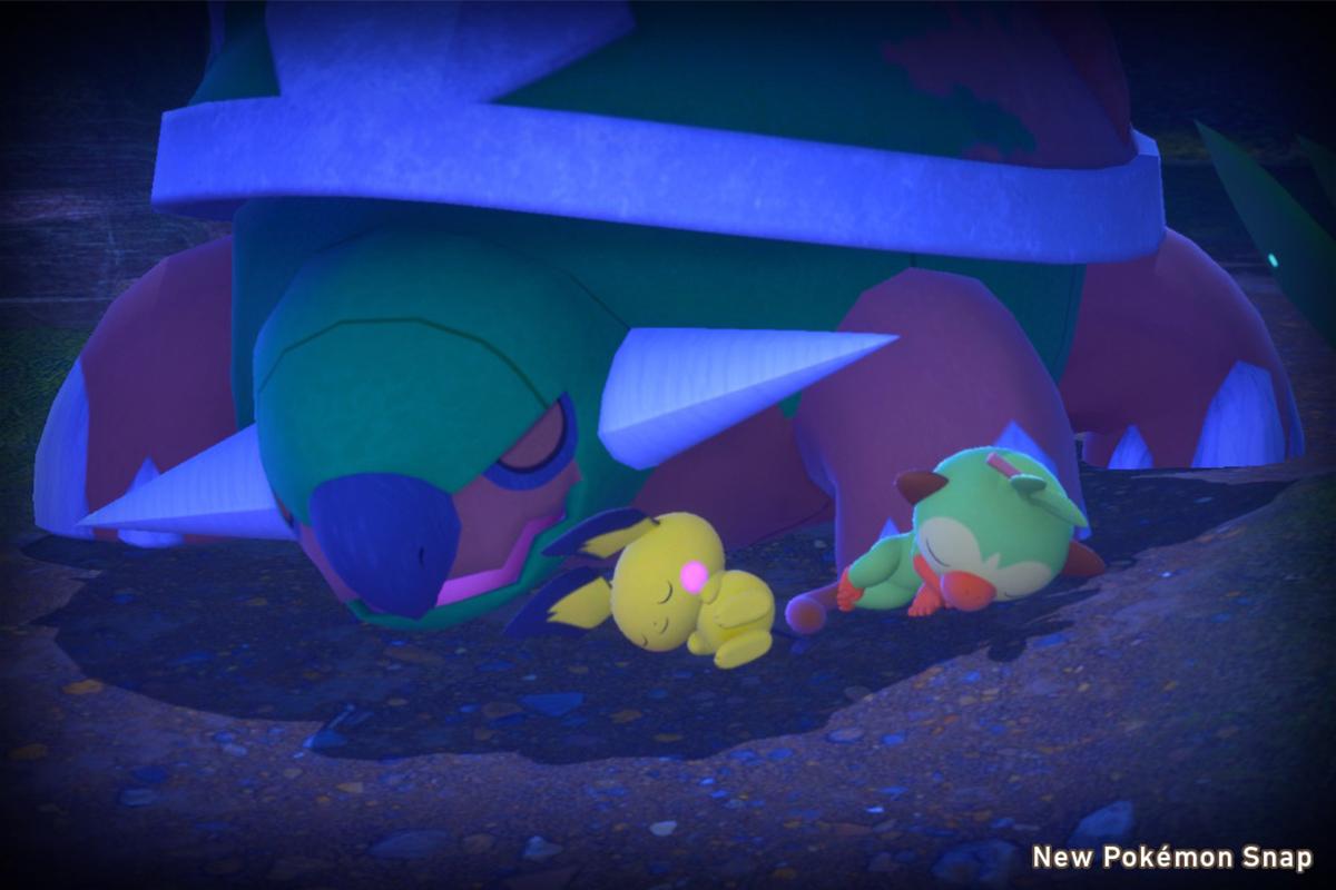 Pokémon che dormono