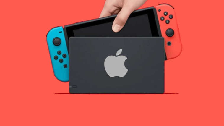 nintendo switch apple