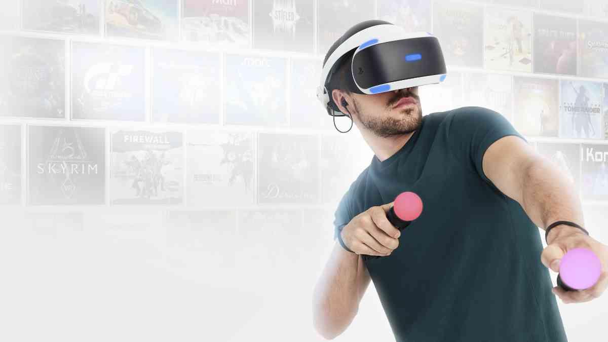 PlayStation 5, playstation 5 headset vr, realtà virtuale PlayStation 5, nuovo visore Sony