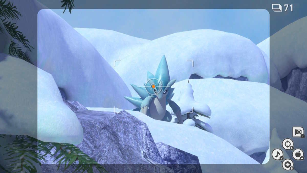 Sandslash di Alola in New Pokémon Snap