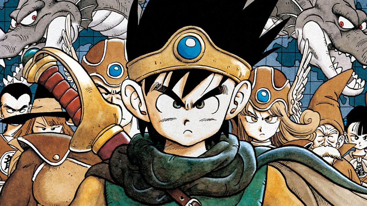 Artwork di copertina di Dragon Quest III
