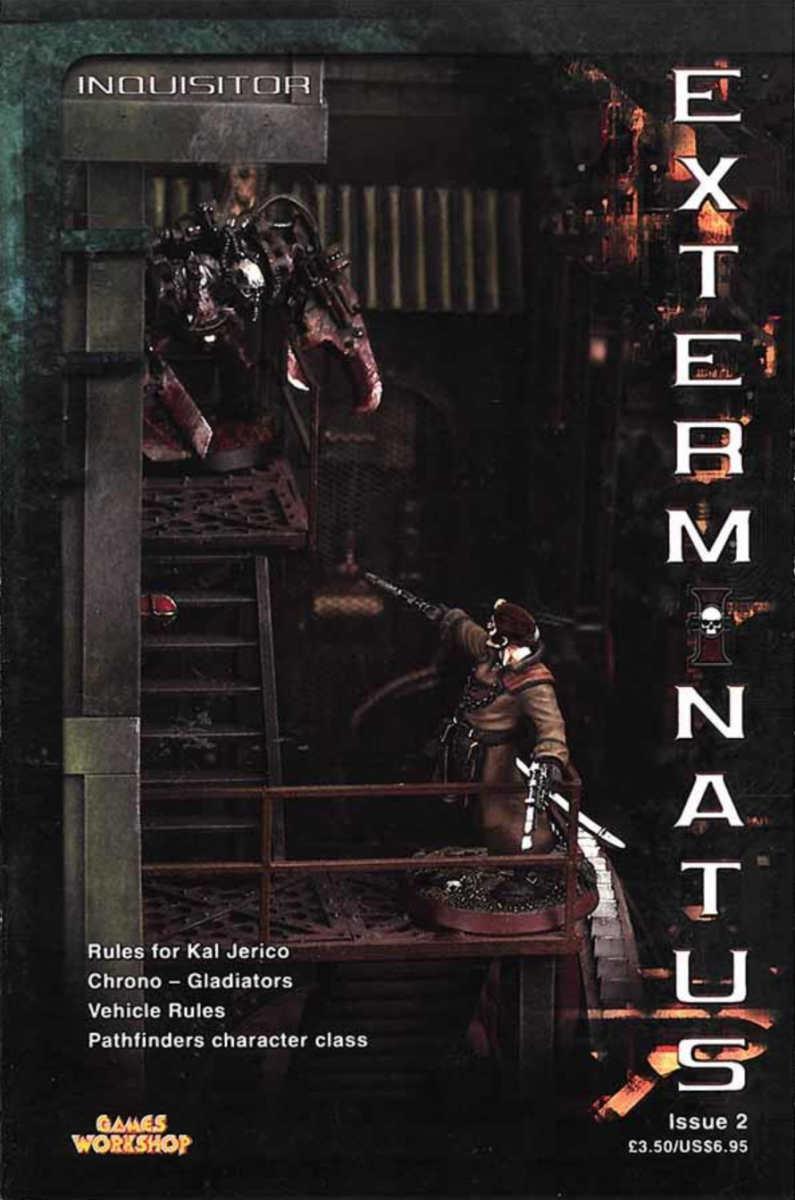 Copertina di Exterminatus Magazine numero 2