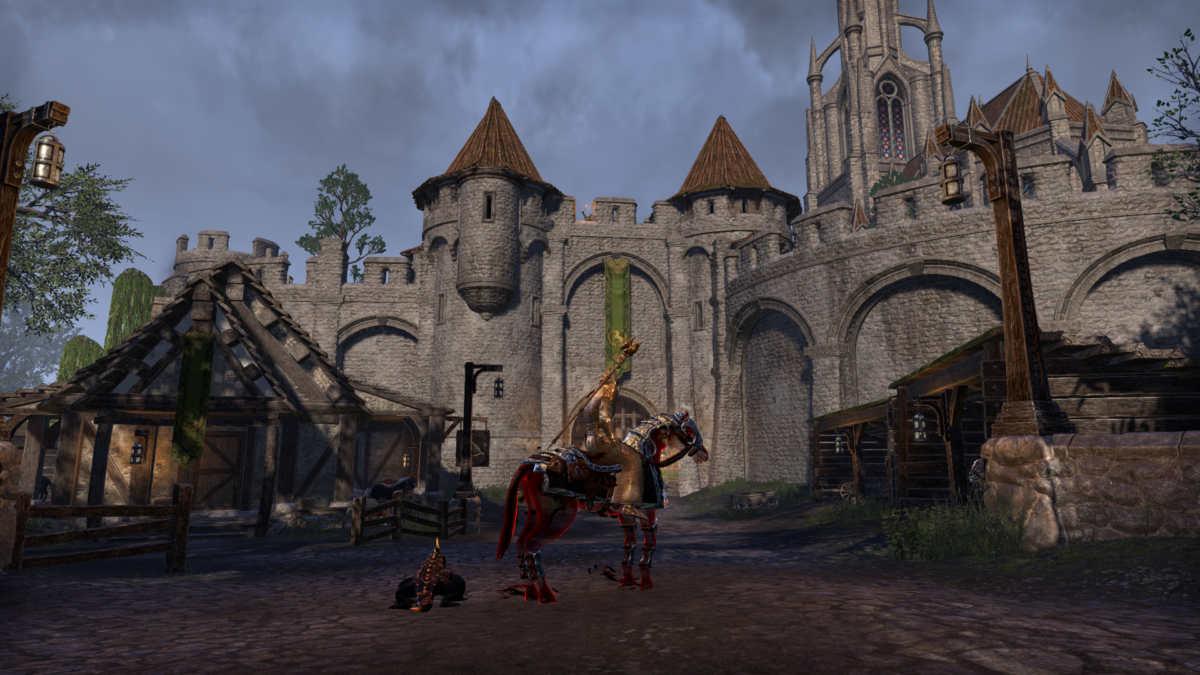 I cancelli di Leyawiin, una delle due città principali di Blackwood