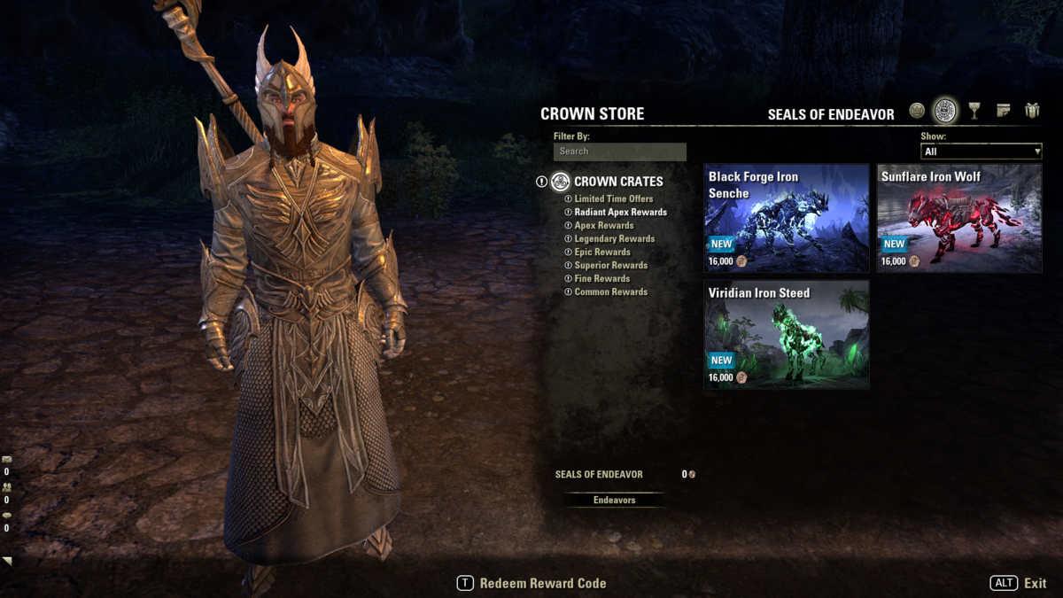Il nuovo sistema delle Endeavor di The Elder Scrolls Online Blackwood