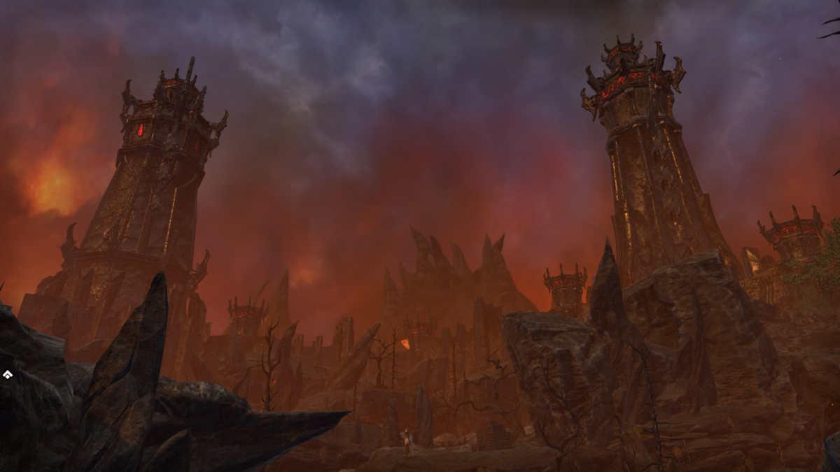 Il regno di Mehrunes Dagon, situato nel piano di Oblivion