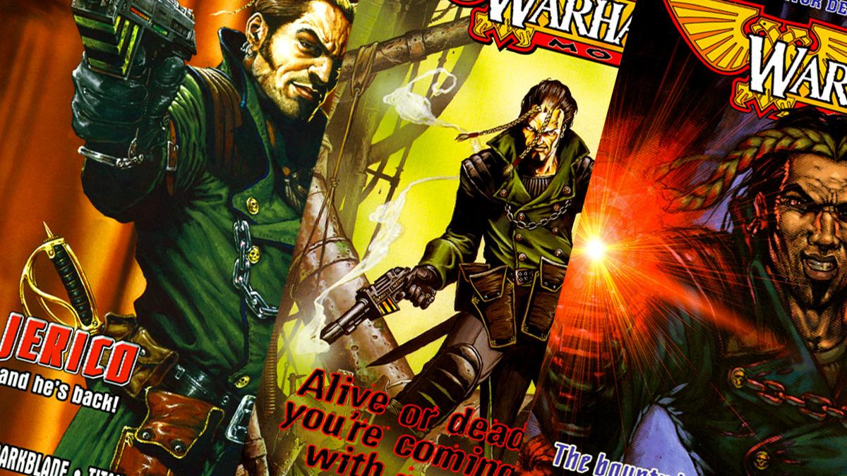 Varie copertine dei fumetti di Kal Jerico
