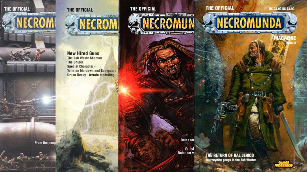 Kal Jerico sul Necromunda Magazine