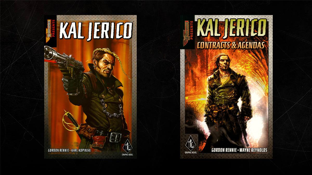 Le prime due raccolte dei fumetti di Kal Jerico