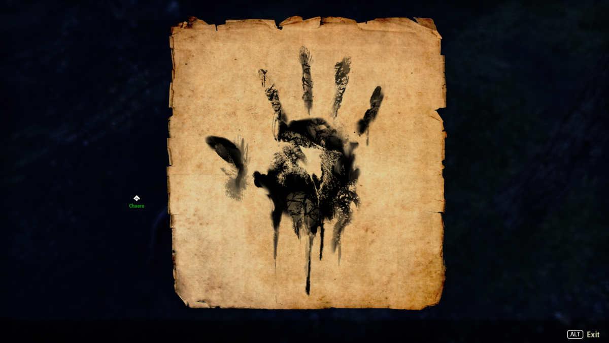 La mano nera della Fratellanza Oscura,o Dark Brotherhood