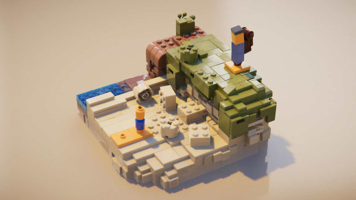 lego builder's journey spiaggia