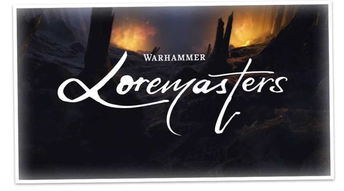 Copertina della serie Loremasters su Warhammer+