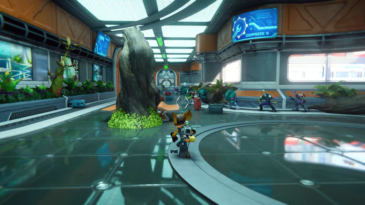 ratchet & clank rift apart ray tracing