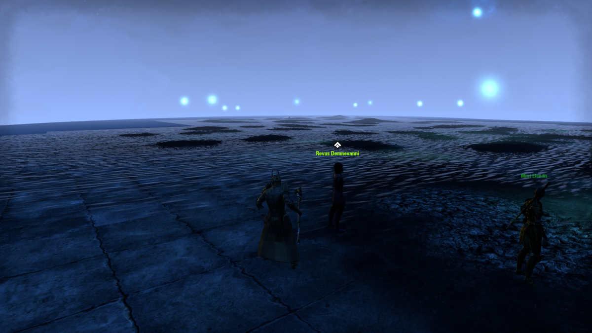 Un glitch grafico in ESO Blackwood