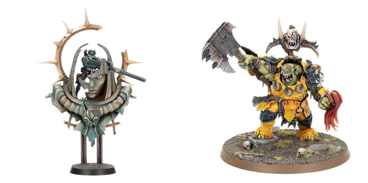Modelli esclusivi di Warhammer+