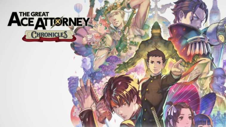 ace attorney chronicles - copertina
