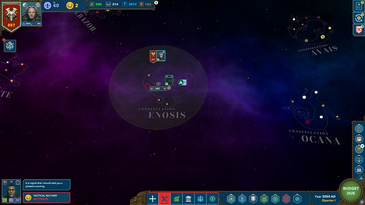 Sistemi stellari di Alliance of the Sacred Suns
