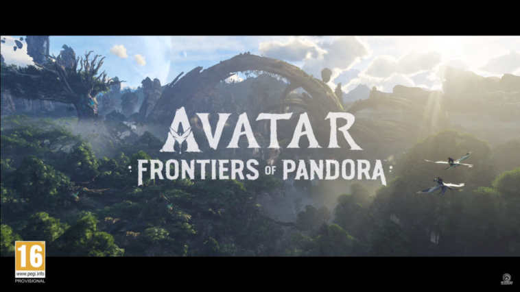 avatar frontiers of pandora trailer ufficiale