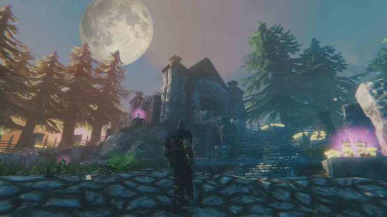 valheim, valheim build, valheim build a tema bloodborne, bloodborne sogno del cacciatore bloodborne, valheim build