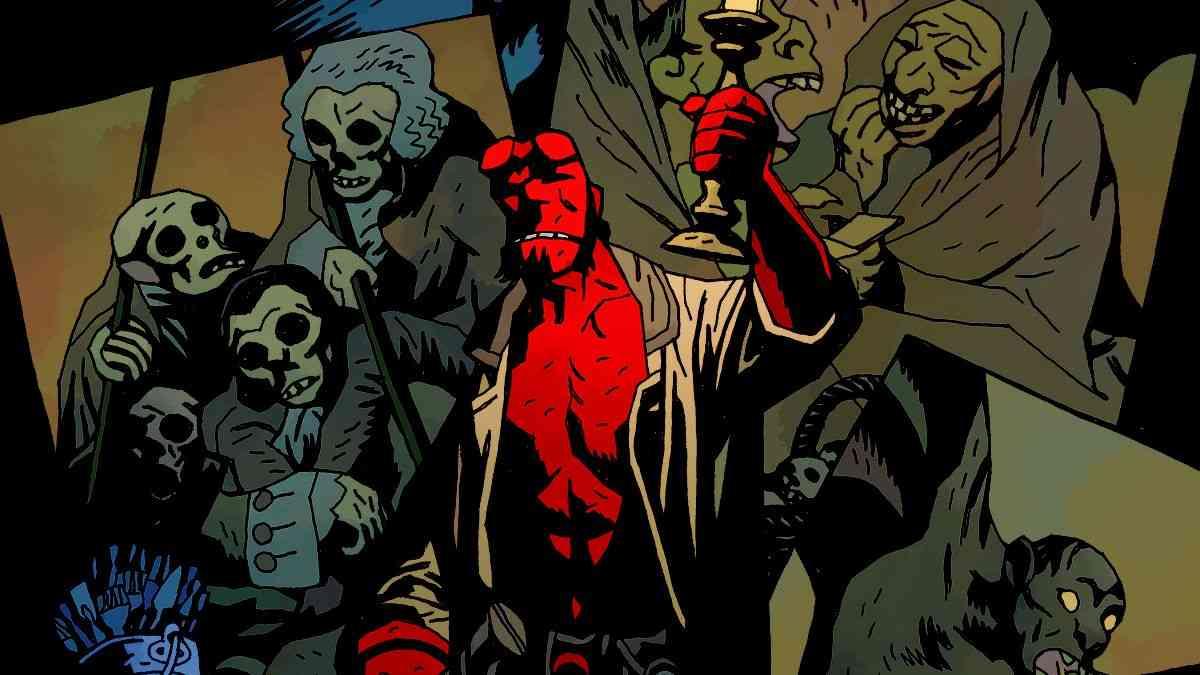 hellboy, hellboy videogioco, dark horse, dark horse gaming, dark horse casa editrice hellboy divisione gaming