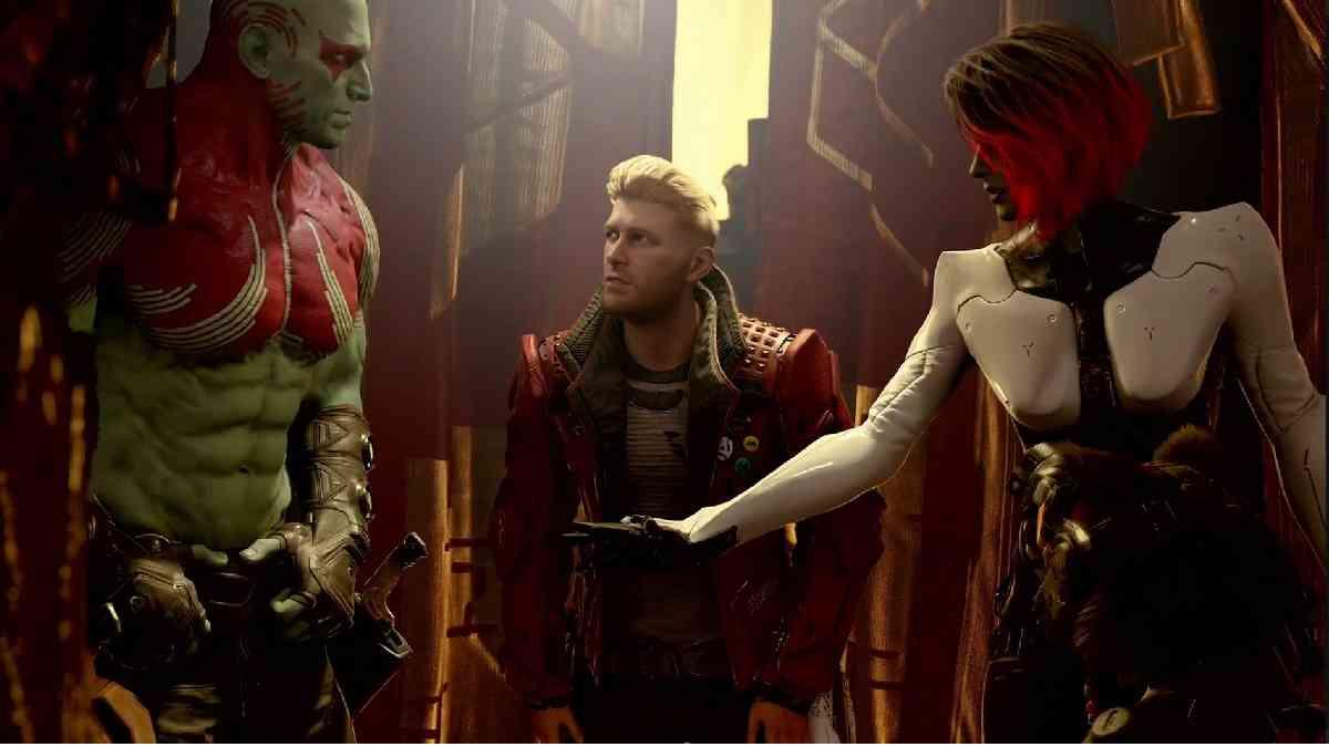 marvel's guardians of galaxy, marvel's guardians of galaxy james gunn, marvel's guardians of galaxy square enix, marvel's guardians of galaxy E3 2021, marvel's guardians of galaxy square enix E3 2021