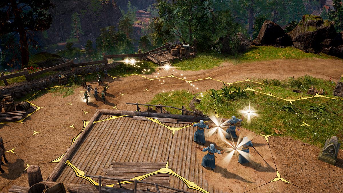 King's Bounty 2: sfruttamento del terreno in battaglia