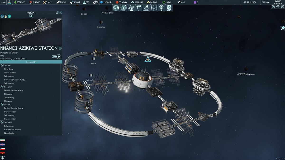 Stazione spaziale modulare in Terra Invicta