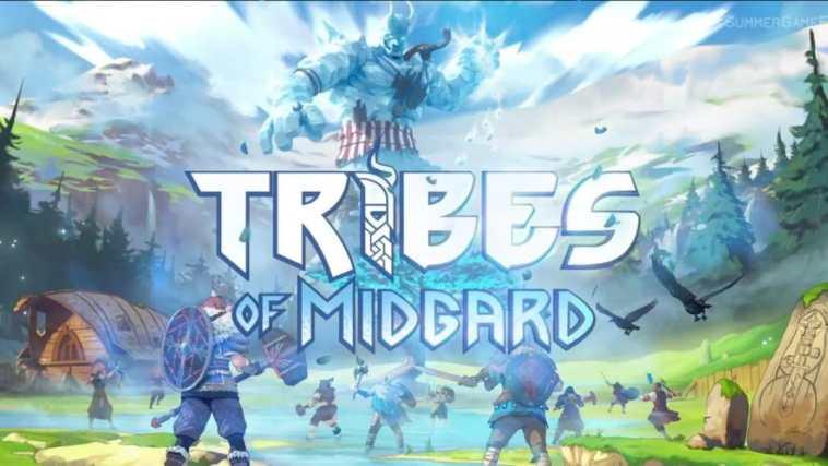 tribes of midgard, tribes of midgard gioco, tribes of midgard trailer summer game fest 2021