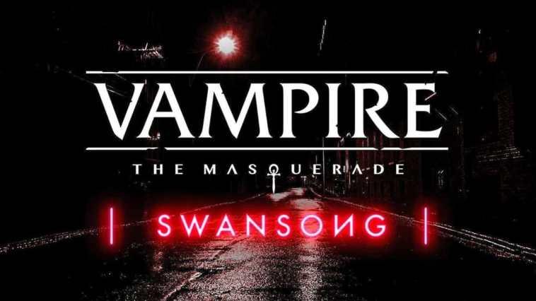 vampire-the-masquerade swansong - copertina