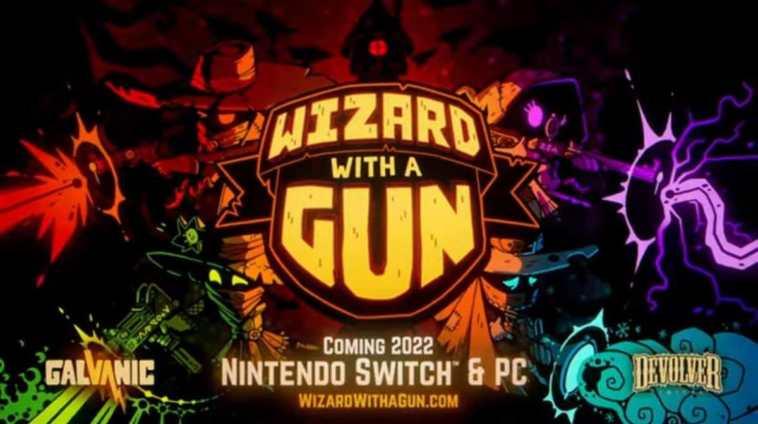 wizard with a gun annunciato da devolver digital all'e3 2021