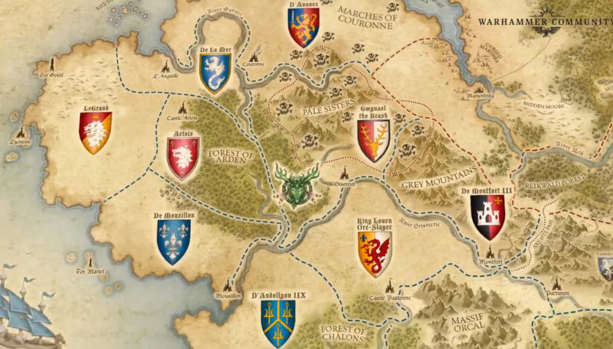 Bretonnia in Warhammer The Old World