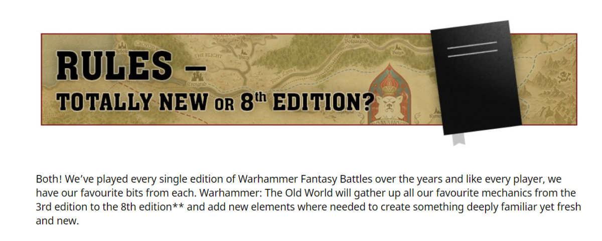 Regole in Warhammer: The Old World
