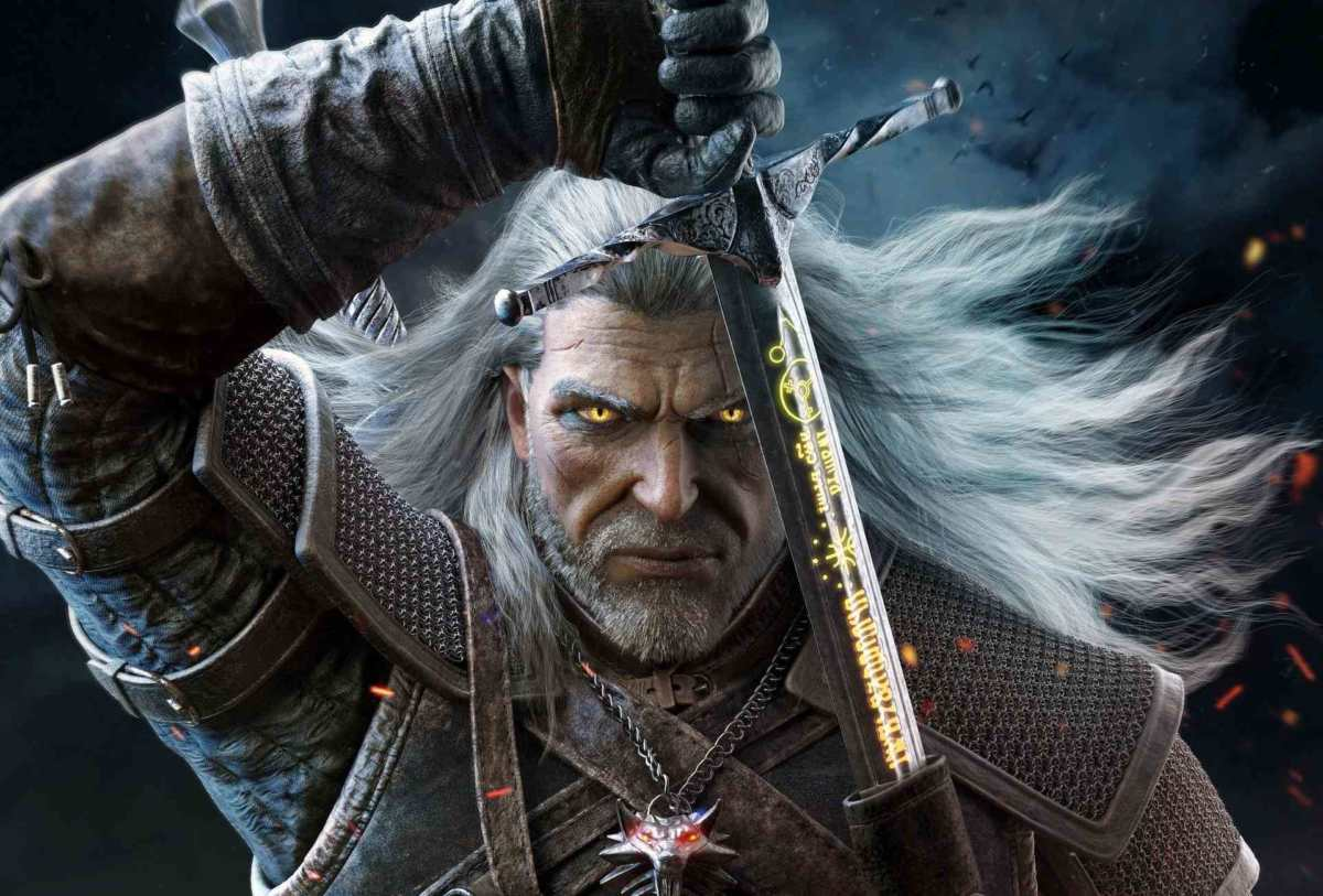 the witcher 3-wild hunt, the witcher 3 wild hunt fan-art zhiwen liu, the witcher 3 wild hunt fan-art geralt di rivia